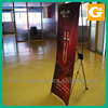 Economical x banner model stand display,flex banner printing stand service