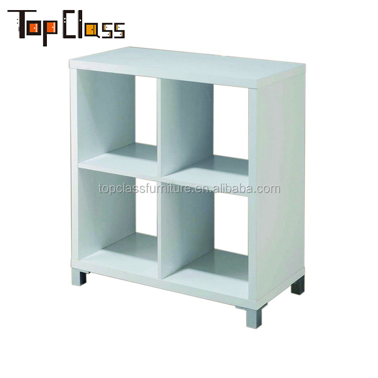 Wholesale custom made modern wooden bookshelf