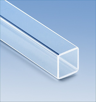 customized square shape glass tube special shape glass tube rectangular tubing - Glass Tubing
