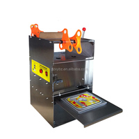 2015 Hot sale manual plastic container sealing machine/sealer machine