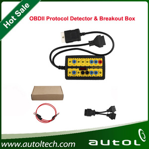 2017 New ADS Original OBDII Protocol Detector & BreakOut Box Jump for OBD interface signals