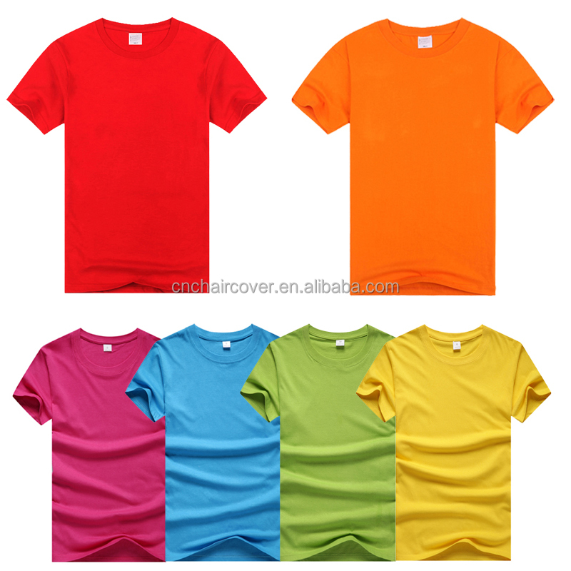 180gsm 100% Cotton Blank Printed T Shirt