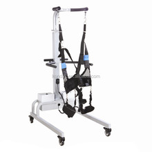Rehabilitation equipment electric gaiting training with unweight system