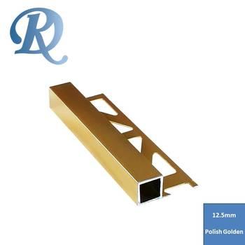 Home Decoration Tile Edge Protection Metal Trim Strips - Buy Ceramic Tile  Edge Trim,Tile Border Trim,Aluminium Tile Edging Strip Product on