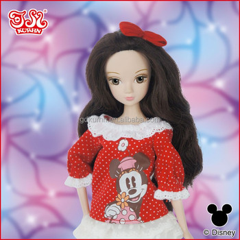 Disney fashion doll dress and doll accessory playset