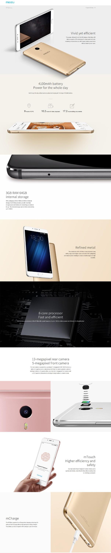 "Original Meizu M3 Max 4G LTE Mobile Phone 6.0"" 1920x1080 Helio P10 Octa Core 3GB RAM 64GB ROM 4100mAh Flash Charge phone"
