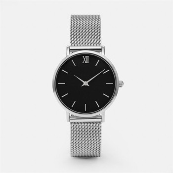 176df2e391a Luxury Women Stainless Steel Silver Wrist Watches - Buy Wrist Watch ...