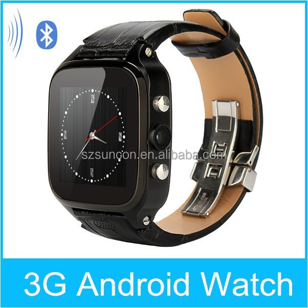 GPS|AGPS 3G Wifi bluetooth smart watch android 4.4 ram 1gb with unique features