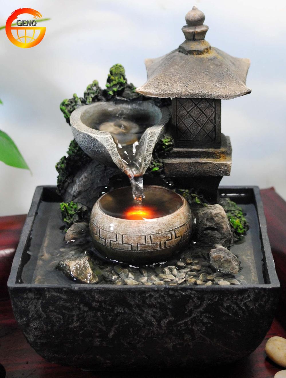 fontaine d 39 eau de table int rieure zen relaxation cascade. Black Bedroom Furniture Sets. Home Design Ideas