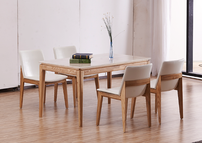 M rmol patas de madera maciza mesa de comedor para el for El significado de marmol