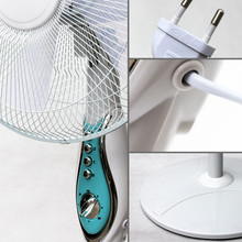 16/18 inch standing oscillating fan with round or cross base /electric fan parts and function