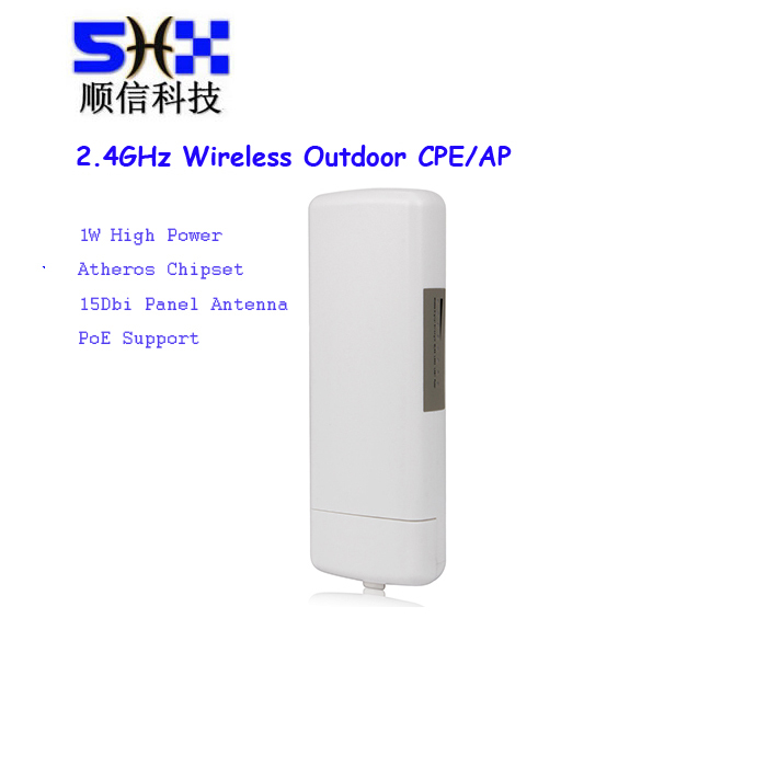 300Mbps long distance outdoor Wireless CPE/Access Point with 14dbi Panel Antenna,AR9341