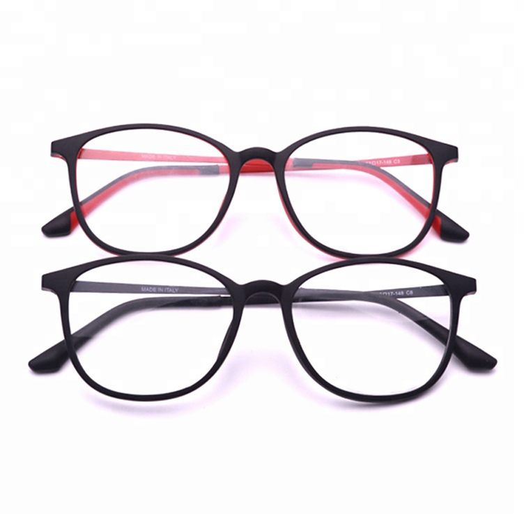 b25fcd20b4e 2018 fashionable latest glasses frames for girls lady RED TR90 metal  optical frame eyeglasses