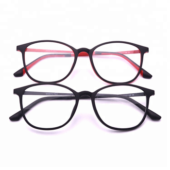 3a850a7e9dde 2018 fashionable latest glasses frames for girls lady RED TR90 metal optical  frame eyeglasses