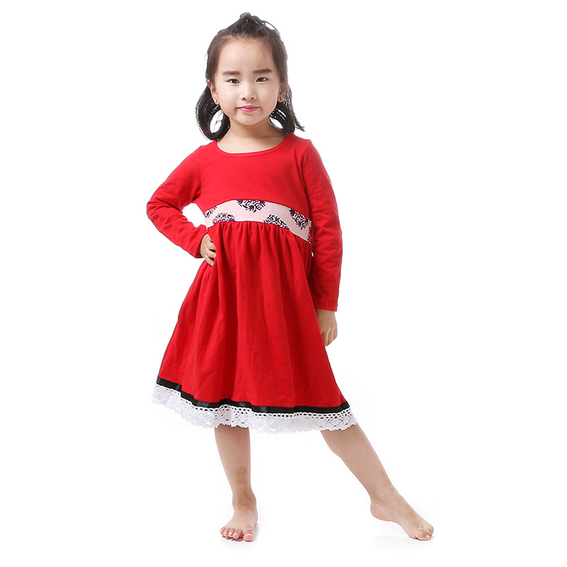 Aliexpress.com : Buy 2016 Christmas Girl Clothes Red Full ...