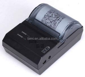Bimi portable 58mm thermal receipt printer mini wireless bluetooth pos receipt printer used for fast food