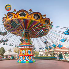 Amusement Park Flying UFO Rides Thrilling Flying Saucer  for Sale
