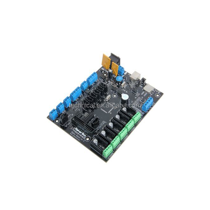 3D Printer Motherboard Electronic Circuit Board Makerbot 3D Printer MPU DIY Motherboard Electronic Circuit Board Control Board