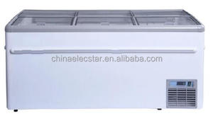 PARIS island freezer Integral freezer and chiller cabinets