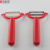 Hot Kitchen Accessories 2 Pieces Plastic Handle Ceramic Stainless Steel Blade Cutter Vegetable Peeler Set For Fruit