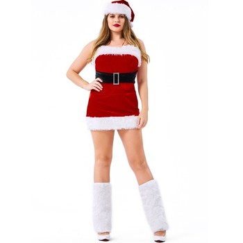Plus Size Christmas Costumes.Women Girls Sexy Santa Claus Christmas Costume Fancy Dress For Sale Woman Plus Size Santa Claus Dress Costumes Buy Santa Claus Costume Christmas