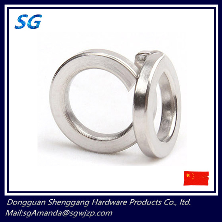 Stainless steel304 slotted washers retaining rings for shafts E-rings circlips GB96 round snap washers M2-M16