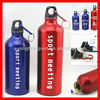 Hot sell promotional aluminium sports water bottles with logo print