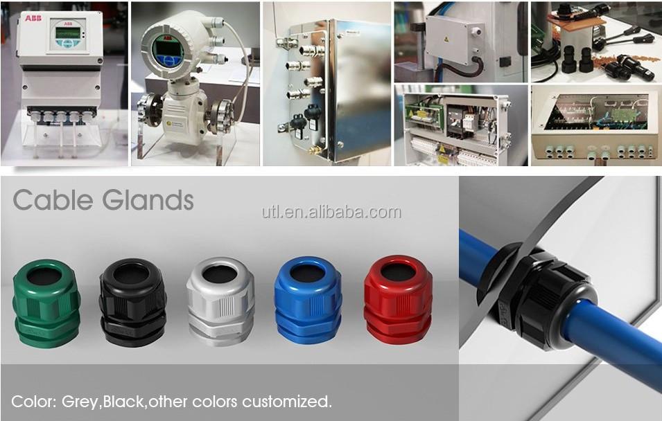 3 8 1 2 3 4 1 Npt Nylon Cable Gland Strain Relief