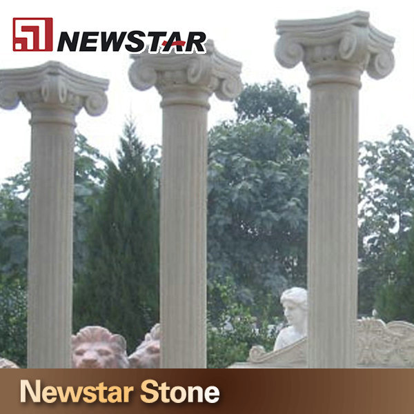Newstar exterior wall column limestone decorative outside for Exterior decorative columns