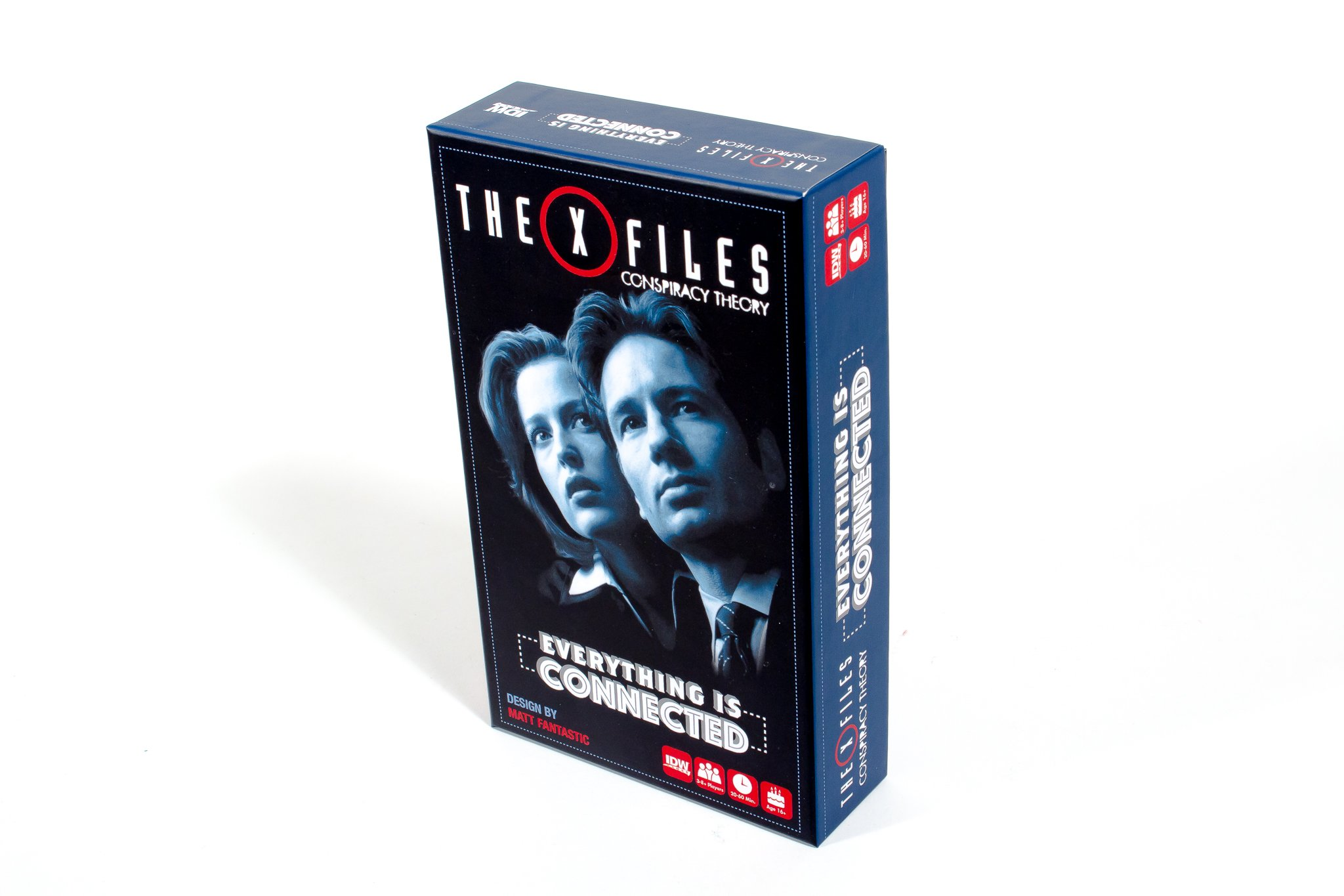 IDW Games the X-Files: Conspiracy Theory-Everything Is Connected Collectible Game