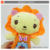 Hot sale baby anime small animal plush stuffed toys with music