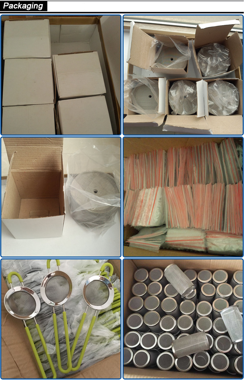 304 316 Edelstahl Draht 4 Mikron Mesh Wasser Filter Discs