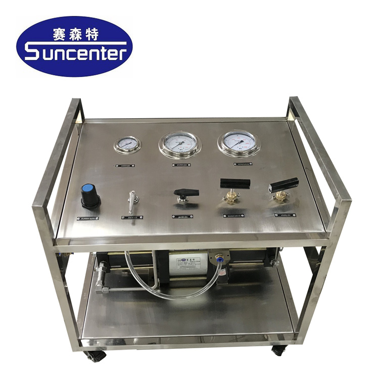 Pneumatic 10000 Psi High Pressure Water/hydraulic/hydro Testing Station -  Buy Water Pressure Testing Equipment,Water Pressure Test Pump Product on