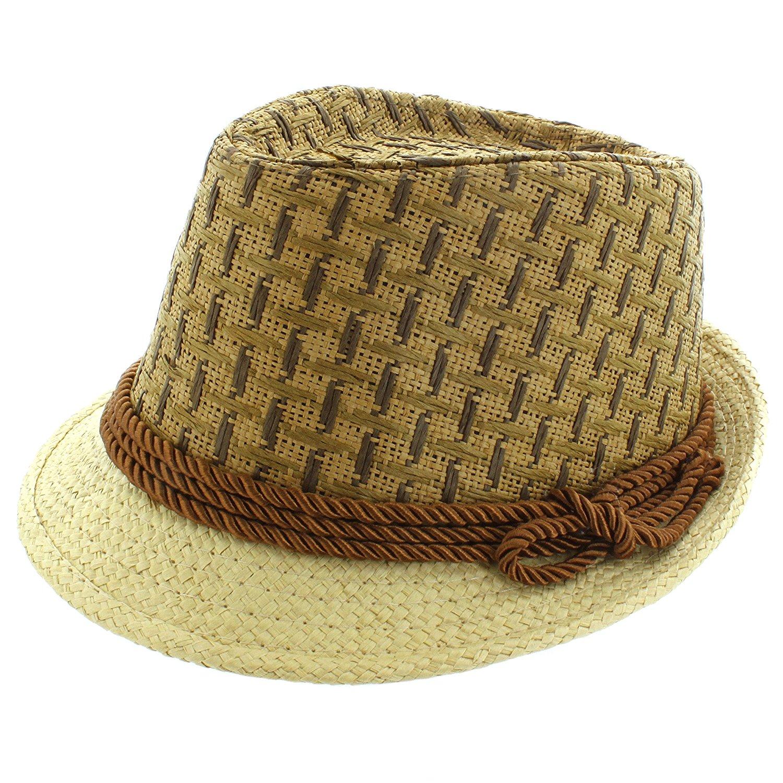 06151ce3ee4 Get Quotations · Faddism Fashion Fedora Hat