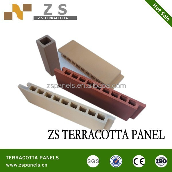 Outside wall cladding terracotta tiles, exterior dry wall cladding material, ceram wall