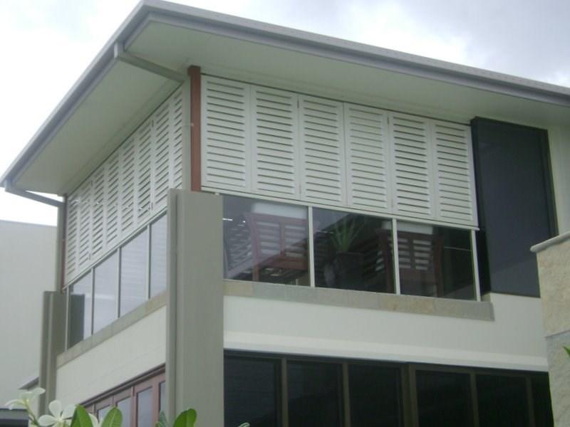 Hot sale powder coating plantation shutter aluminium - Aluminum window shutters exterior ...