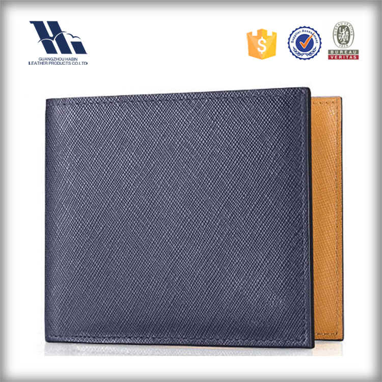 Stock wholesale fashion smart genuine leather wallet to import