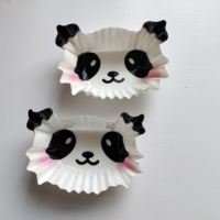 Disposable Panda cup PET paper Bento cup dish cup Japan