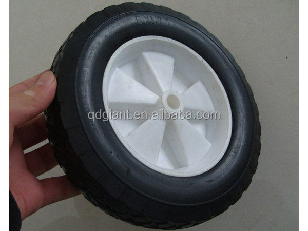 Qingdao manufacturer solid rubber wheel 8x2 inch