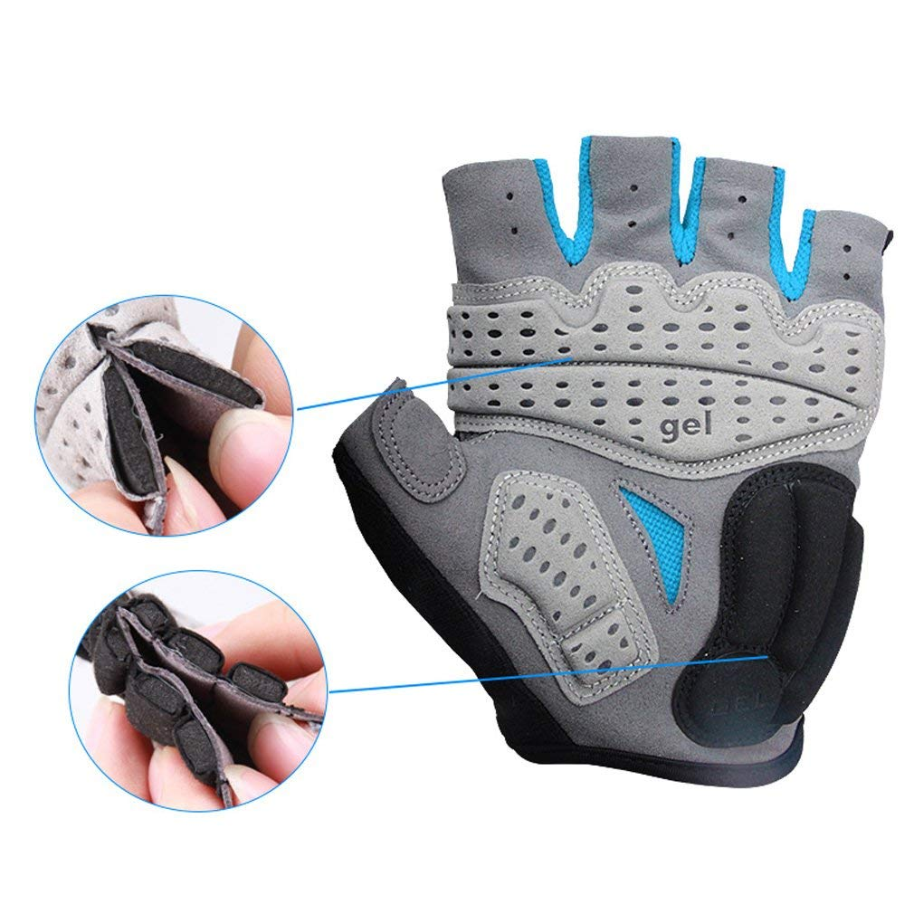 Cycling Riding Gloves Sports Half Finger Anti-slip Mtb Bicycle Bike Equipment