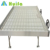 Commercial plastic greenhouse ebb and flood rolling bench