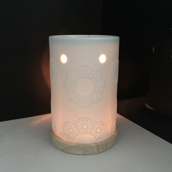 Wholesale Ceramic Essential Oil Burner Tealight Candle Holder Fragance Oil Diffuser With Base