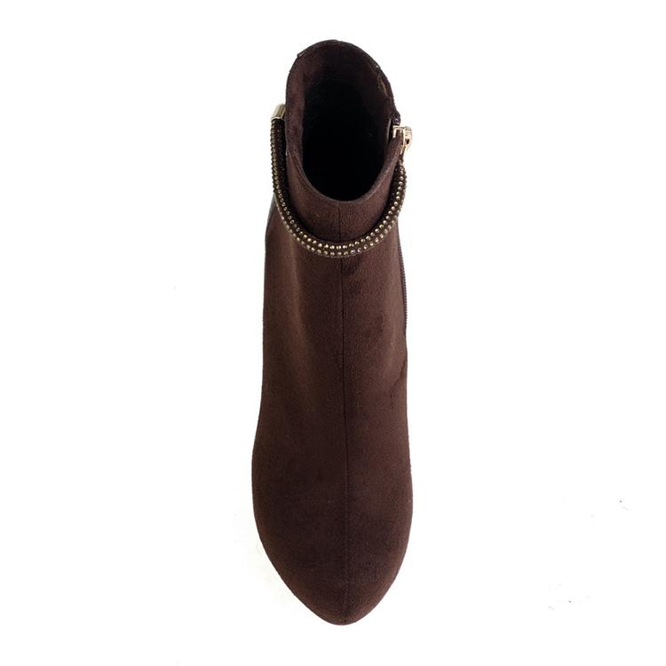 High Ankle Boots Platform New Wholesale Heel Zipper China 2018 Fancy 4Y6qvq