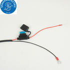 Ring Terminal Wiring Harness 2 3 4 6 8 Pin Quick Disconnect Plug Extension Cable 12V- 24V16AWG Gauge
