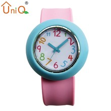 New Style Fashion Silicone Kids Colors Watches for Wholesale