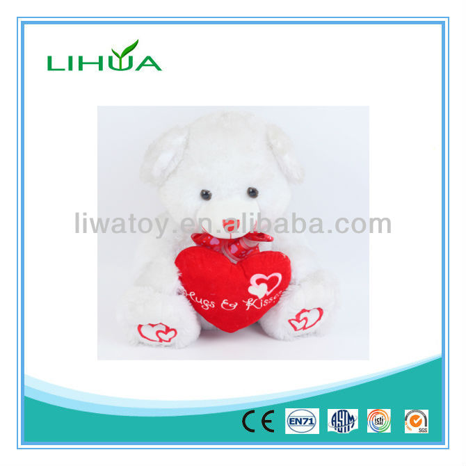 Gummy bear toy sale with heart pillow