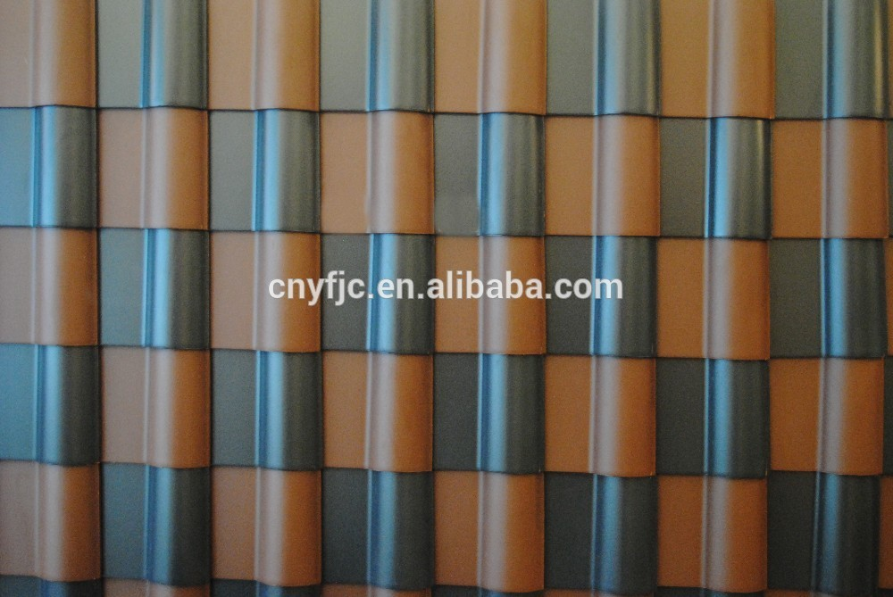 Hot sell IVON Spanish ceremic glazed roof tiles Resin Flat Sheet Roof,Roof Tile,Roof Tiles Prices