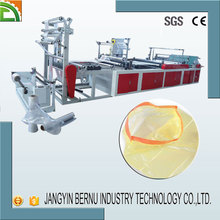 disposible plastic drawstring bag making machine