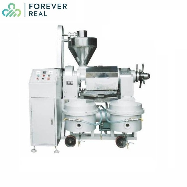 5-7T/D Screw Pressing Extraction Machinery Oil Press Machine Coconut Ground Nut Oil Making Machine