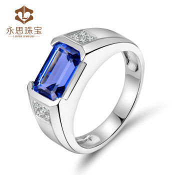 collection lwr tanzanite in with ftr cut grande white novalo anniversary emerald diamonds products gold ring wedding